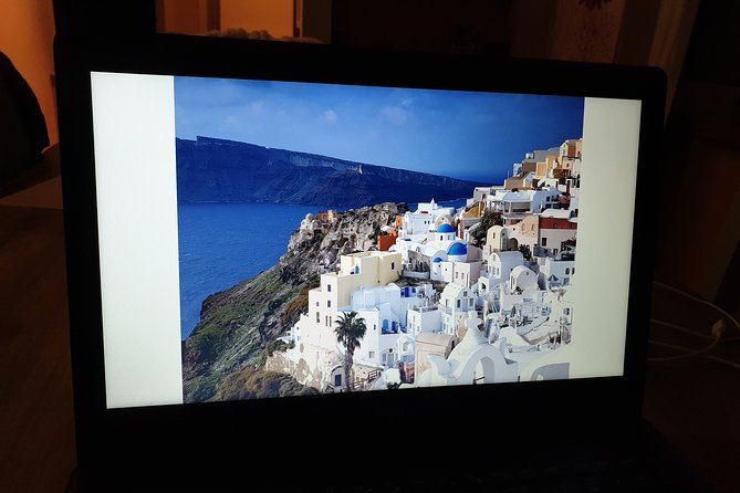 Virtual First Impressions of Santorini - Live Experience