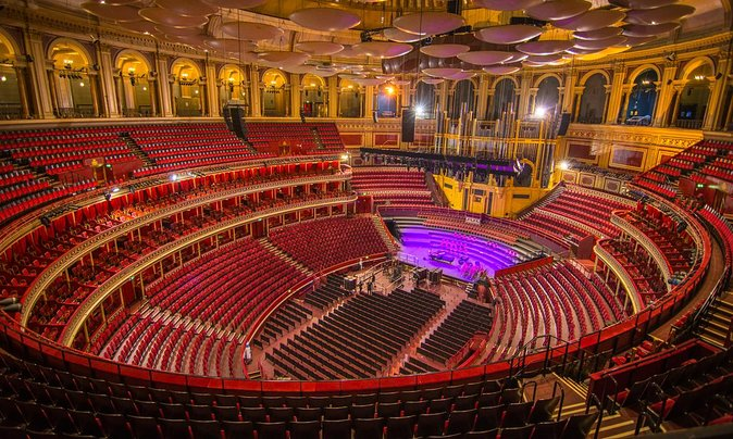 Virtual 360° Experience of London's Royal Albert Hall