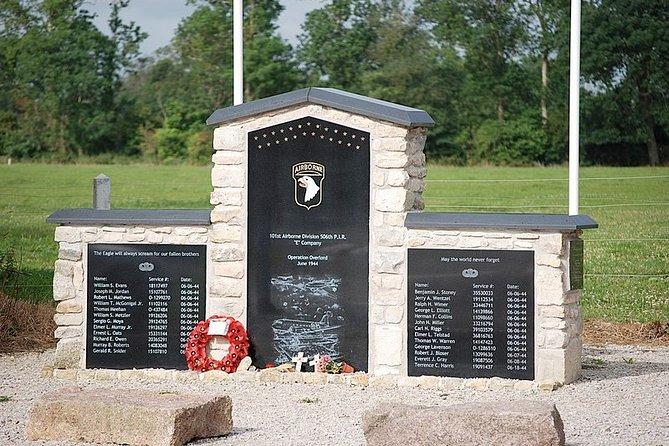 Stop 2 - Brecourt Manor Monument