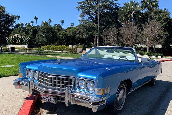 Discover LA in a classic Cadillac Eldorado