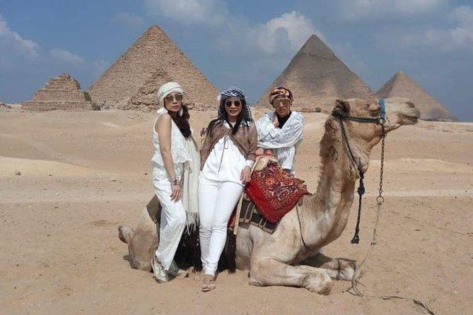 Private Tour Full-Day Giza Pyramid, Sakkara, Memphis & Dahshur