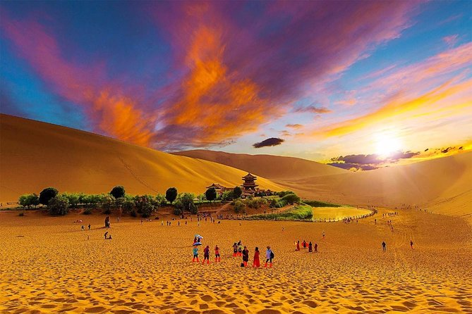 4 Day Private Silk Road Tour from Beijing:Highlights of Xi'an,Jiayuguan,Dunhuang