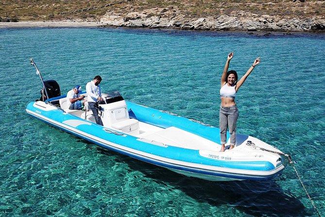 Private Cruise: PAROS – DELOS – RHENIA - MYKONOS