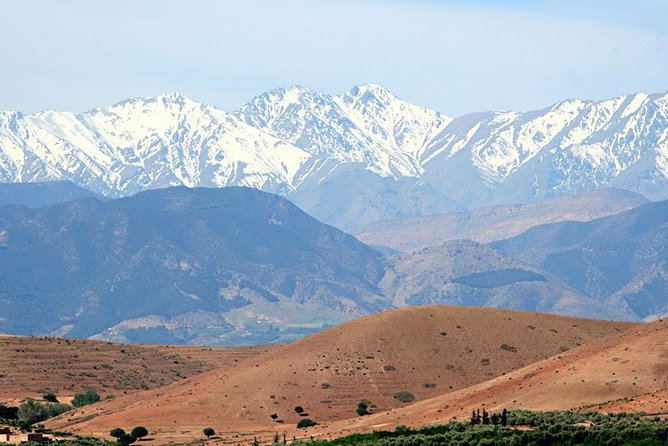 Agafay Desert, Atlas Mountains and 3 Valleys - Day Trip - private tour