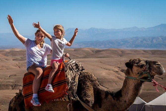 Agafay Desert Camel Ride - Half Day Trip - private tour