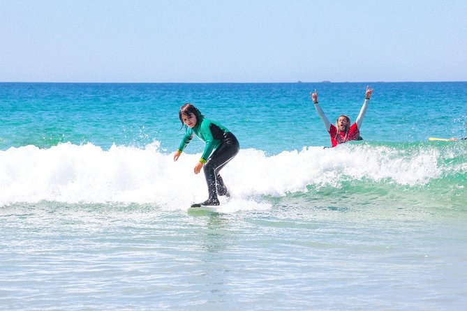 Surf lessons in Ribeira