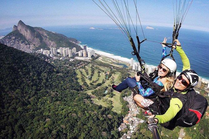Flight Paragliding Floresta da Tijuca
