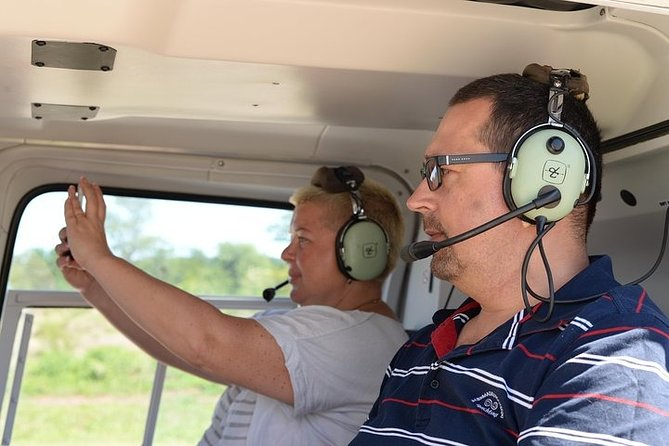 Scenic Helicopter Flight around Victoria Falls with Pickup