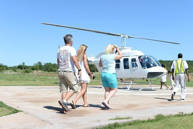 Victoria Falls Sightseeing Helicopter Tour with Hotel Pickup