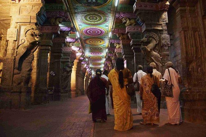 Night Ceremony in Madurai Meenakshi Amman Temple