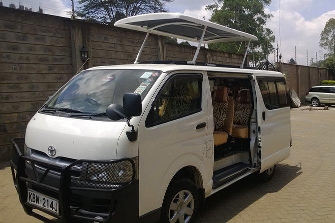 Safari Vehicle (Tour Van)