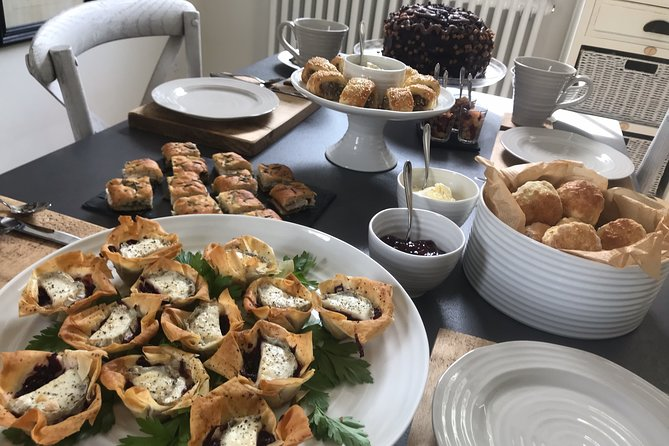 Sparkling Afternoon Tea - A masterclass in baking at a microfarm