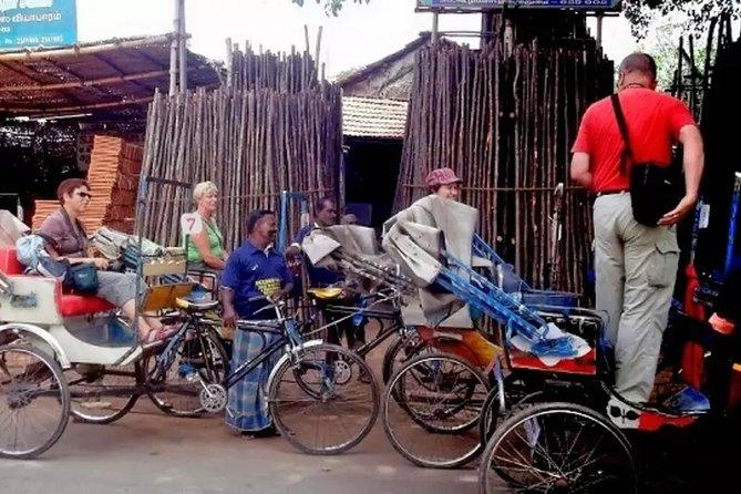 Madurai Sightseeing the City in Rickshaw Ride Half Day