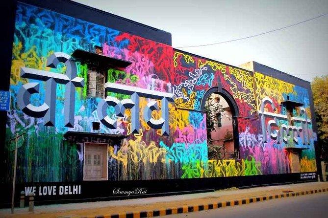 Delhi Street Art Tour On Private Basis