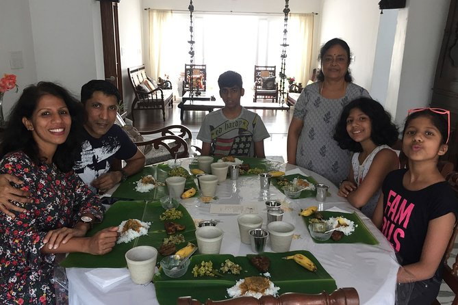 LUNCH WITH A PONDICHERRIAN's FAMILY- Get to savor the Creole cuisine