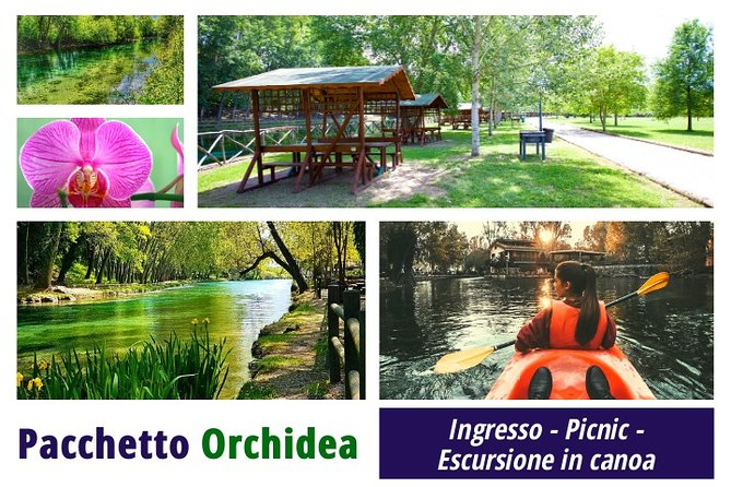 ORCHID PACKAGE: Entrance - Picnic - Canoe excursion