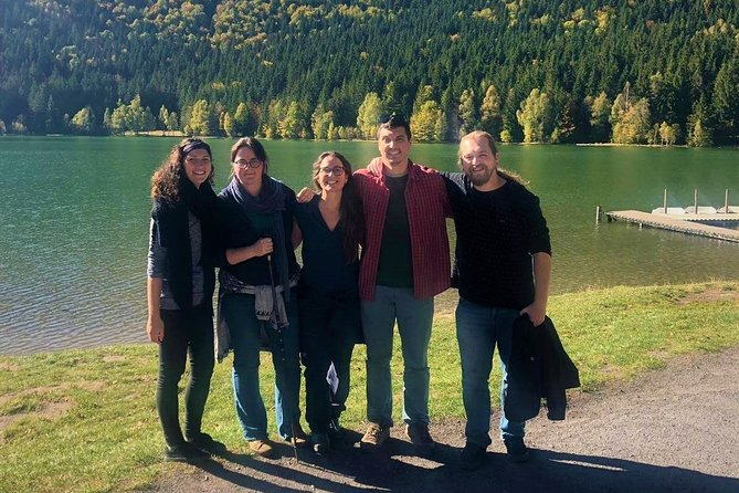 Private day trip to Saint Anna lake from Brasov with optional bear watching