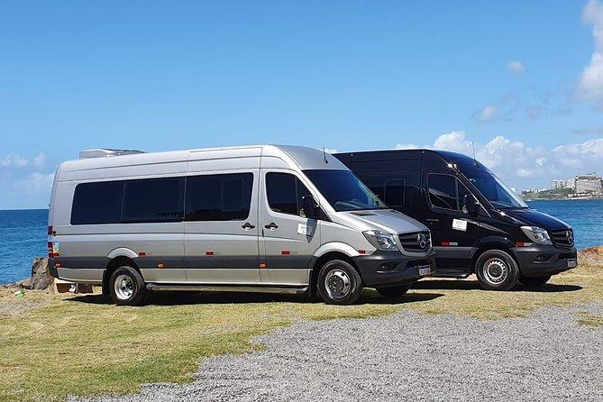 Executive van rental 15 seats with driver.