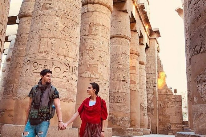 Half Day Luxor East Bank Tour – Temples of Karank & Luxor with a private guide.