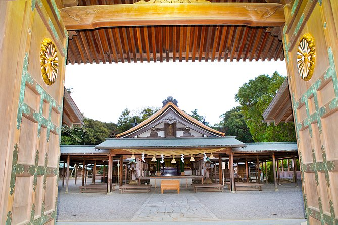 World Heritage;Fukuoka, Munakata Shrines Tour with a professional guide