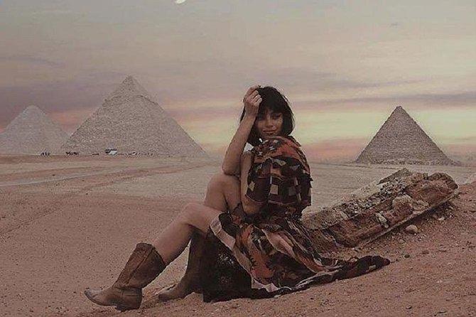 Pyramids & The Egyptian Museum, 8 hours Tour
