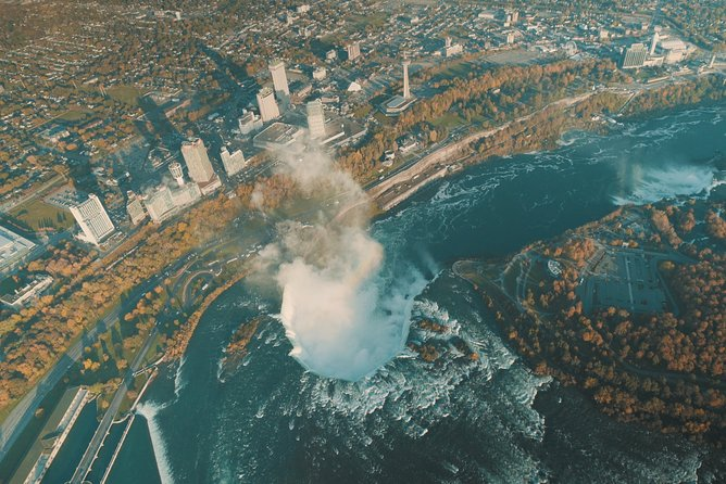 Ultimate Niagara Falls, USA Tour with Helicopter Ride and Lunch