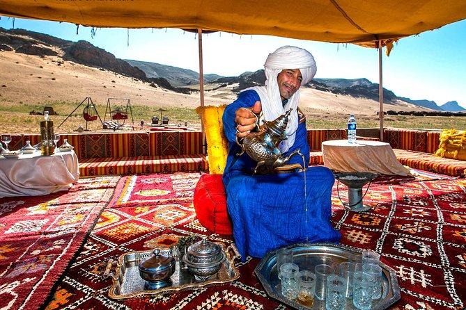 Zagora: Overnight in luxury desert camp with Camel Ride, meals & sandboarding