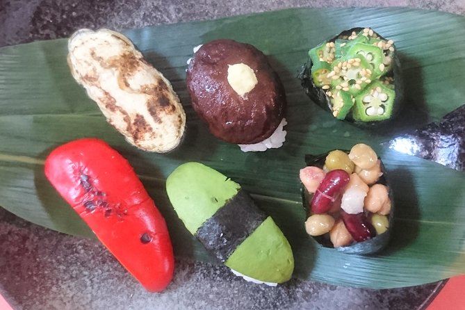 ONLINE JAPANESE COOKING / Vegan Sushi