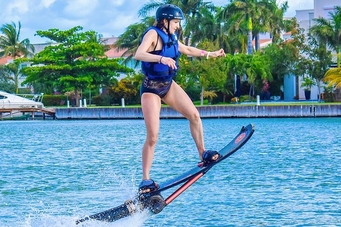 Surf in CANCUN on the HOVERBOARD Activity. With Training, Equipment, Instructor.