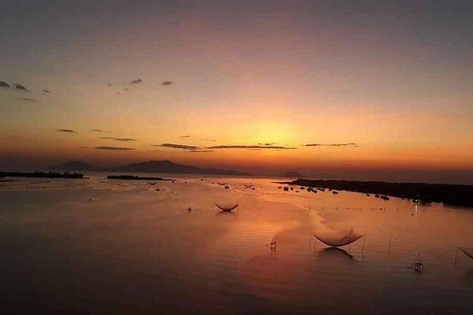 Sunrise Boat Trip on Thu Bon River &Photo Tour at Fishing Village,Coconut Jungle