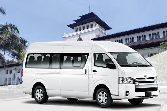 Private Van Charter From Bandung