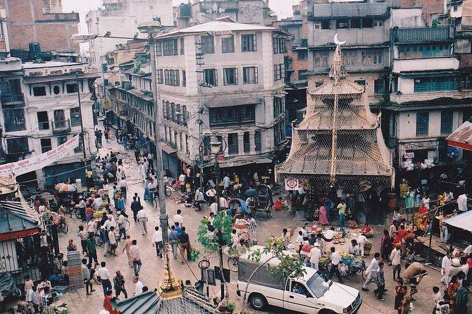 Exploring Kathmandu by Rickshaw