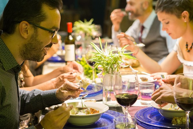Gastronomic dinner with a chef and artist in his Seville studio