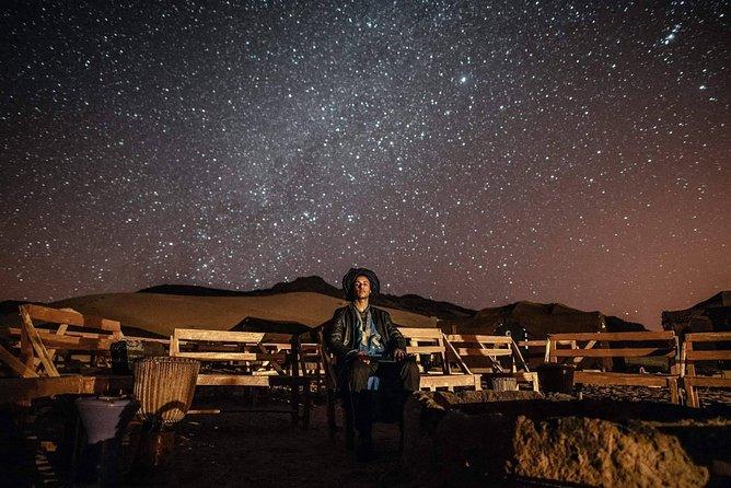 Erg Chigaga: Night in a luxury desert camp with Camel Ride, meals & sandboarding