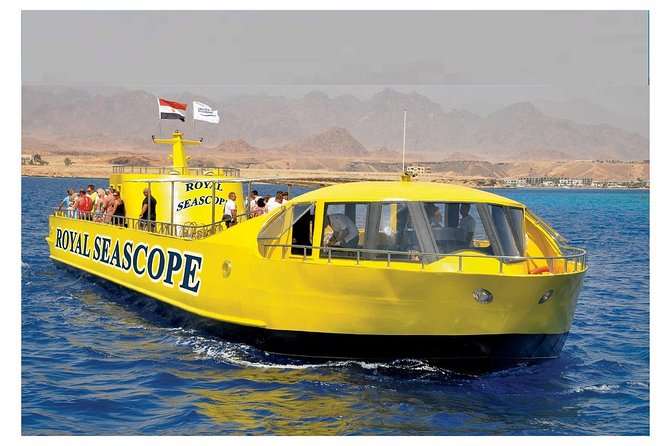 Royal Sea Scope (Semi-Submarine& Snorkeling) – Hurghada