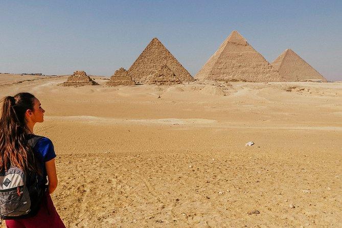 Giza Pyramids, Sphinx, Saqqara, and Memphis Day Tour