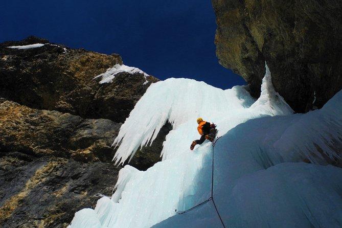 Dolomites Ice Climbing Experience