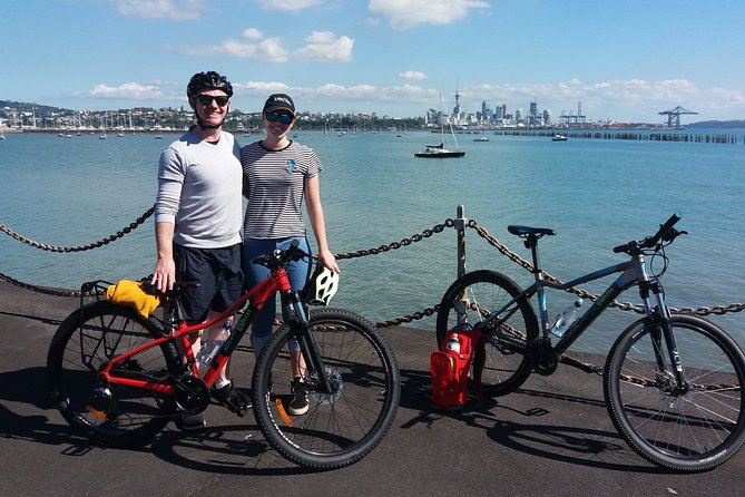 Auckland Waterfront Guided Bike Tour