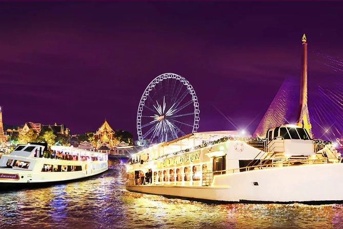 The Chaophraya Cruise : LUXURY 5 STAR Dinner Cruise on Chao Phraya River