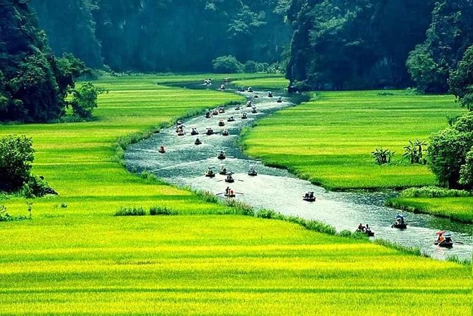 Hoa Lu Former Citadel and Tam Coc Private Day Tour from Hanoi