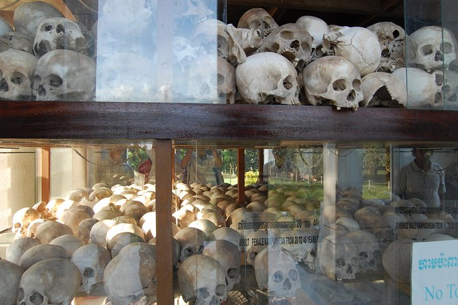Historical Phnom Penh Small-Group Tour,Include Killing Fields and Prison S21