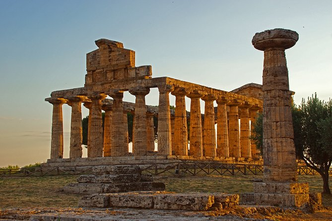 Full-Day Paestum Private Tour with Hotel Pickup