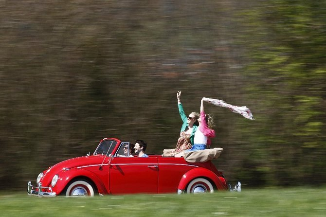 VW Beetle Cabrio Tour to the baroque jewels of Bavaria