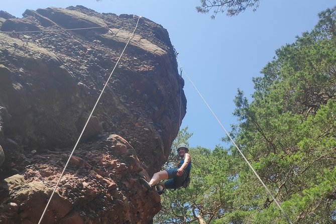 Trial climbing / climbing day in the Sauerland