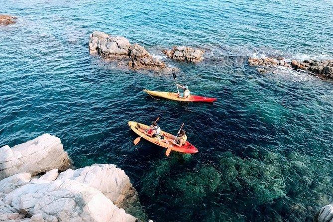 Kayak excursion in Playa de Aro