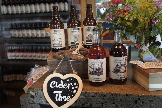 Vernon High Spirits Tour (Distillery, Brewery, Cidery, Winery) - 4 venues