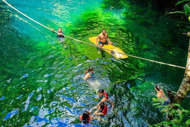Half-Day ATV Zipline and Swimming Adventure in Riviera Maya