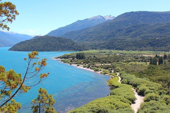 El Bolson & Puelo Lake from Bariloche