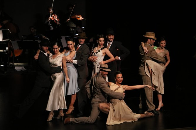 Piazzolla Tango Show with Private Transfers (with optional dinner)