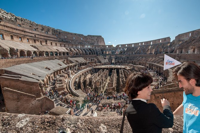 Fast track: Colosseum Arena floor, Underground, Forum and Palatine Hill Tour